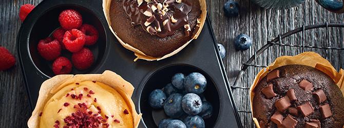 amerikaner muffins schoko